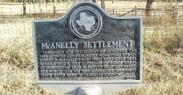 McAnelly Settlement, Bend, Texas