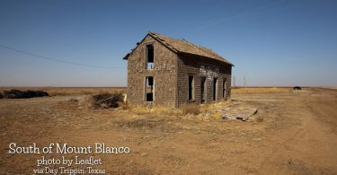 Abandoned Farmhouse in Mount Blanco by Leaflet