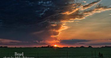 Sunrise in Boyd by Mike Robinson