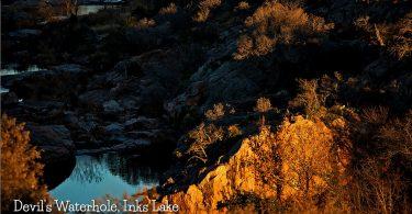 Devils Waterhole, InksLake by Justin Terveen