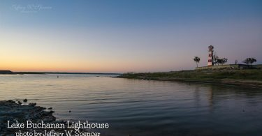 Lake Buchanan Lighthouse by Jeffrey Spencer