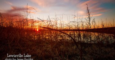 Lake Lewisville by Jesse Grubbs