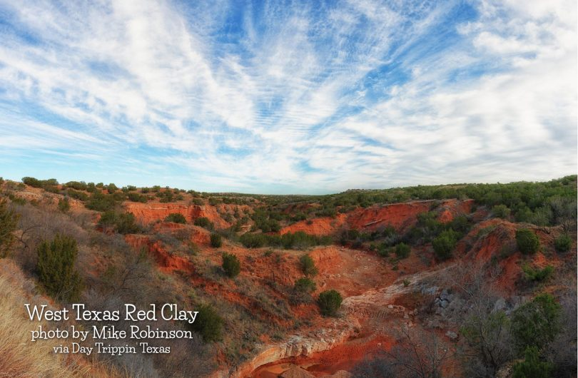 West Texas Red Clay by Mike Robinson