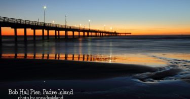 Bob Hall Pier on Padre Island by onpadreisland