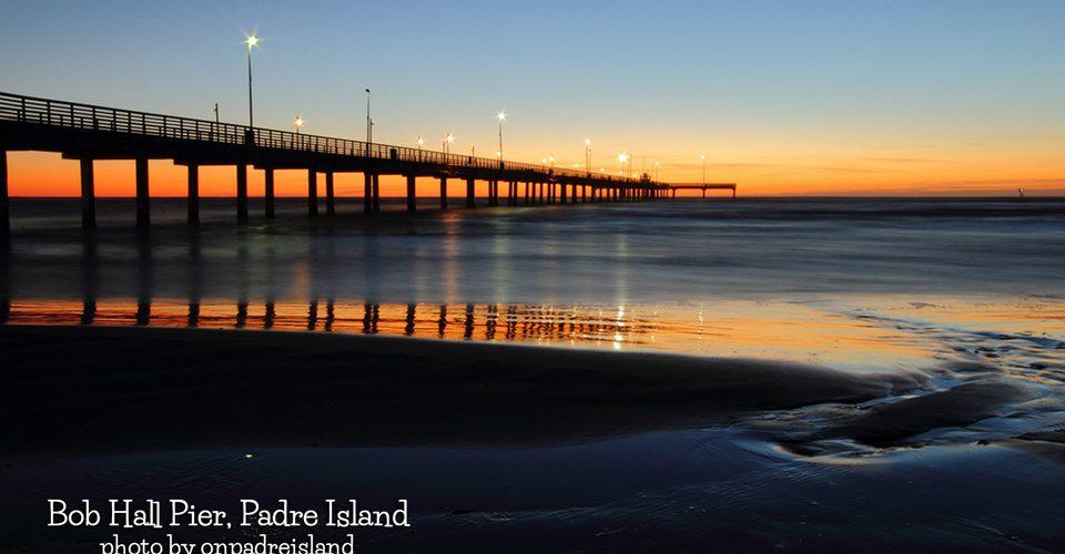 Bob Hall Pier on Padre Island by onpadreisland