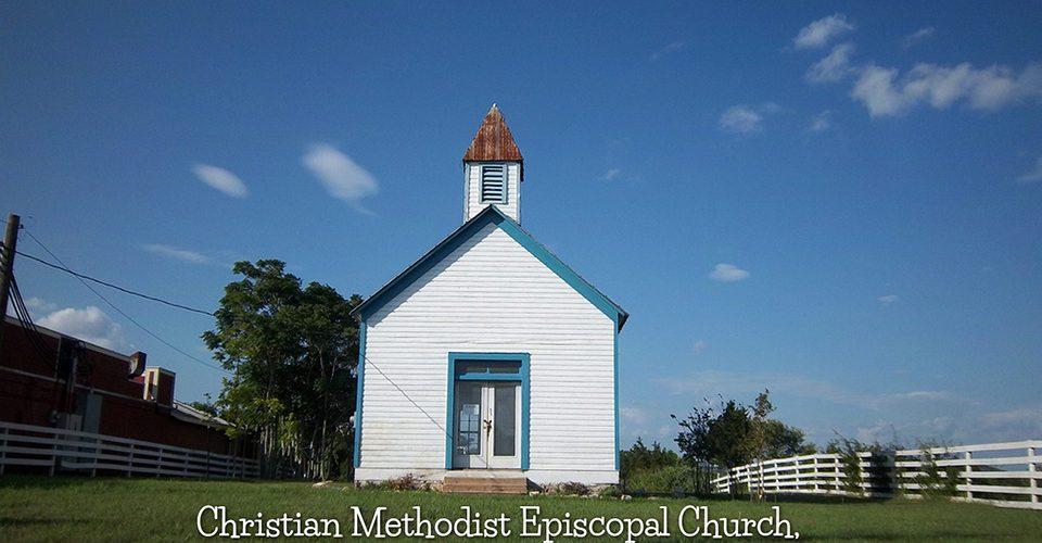 Christian Methodist Episcopal Church in Fredericksburg by Nicolas Henderson