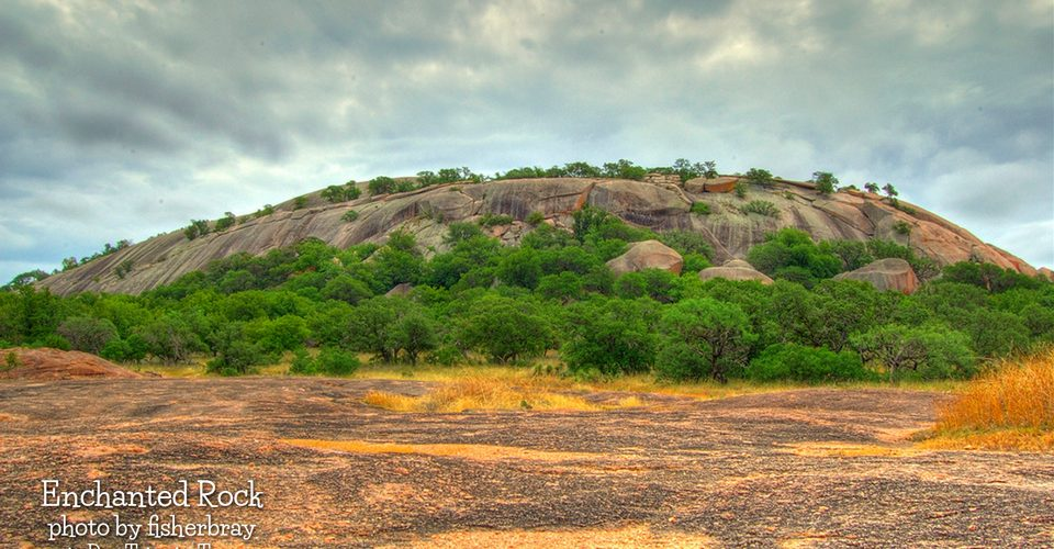Enchanted Rock in the Hill Country by fisherbray