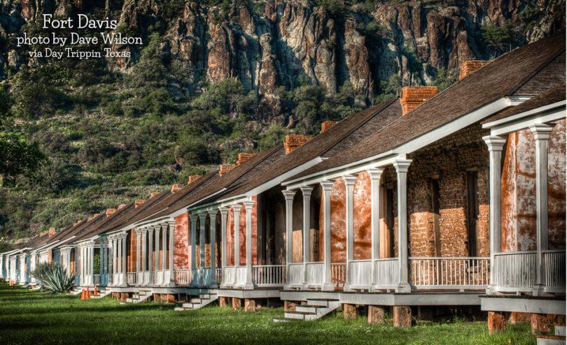 Fort Davis by Dave Wilson