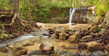 Hog Creek Falls in Jasper County by Jonathan Gerland