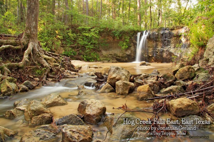 Hog Creek Falls in Jasper County by Jonathan Gerland