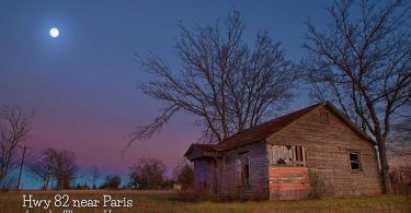 Hwy 82 near Paris by Thomas Henry