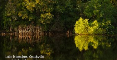Lake Buescher in Smithville by Jeffrey Lynch