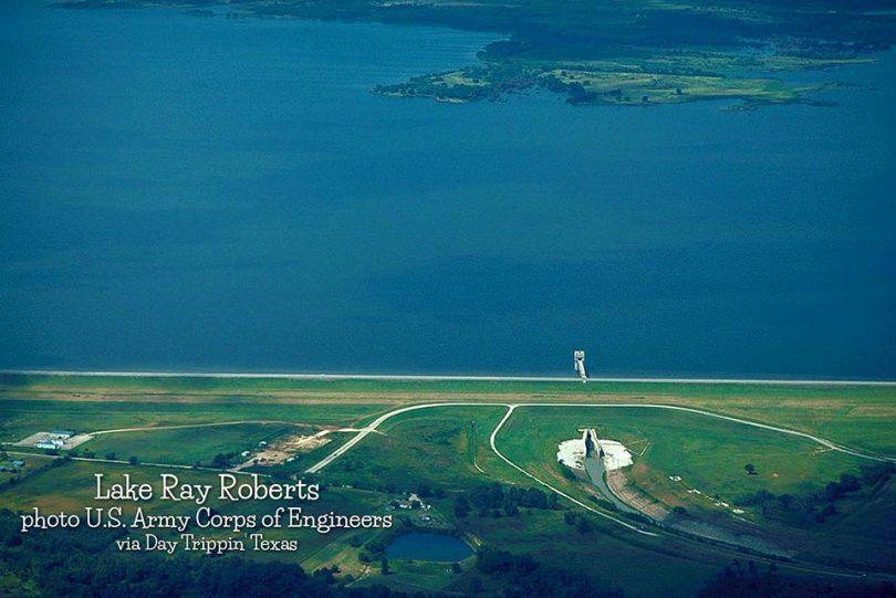 Lake Ray Roberts Dam