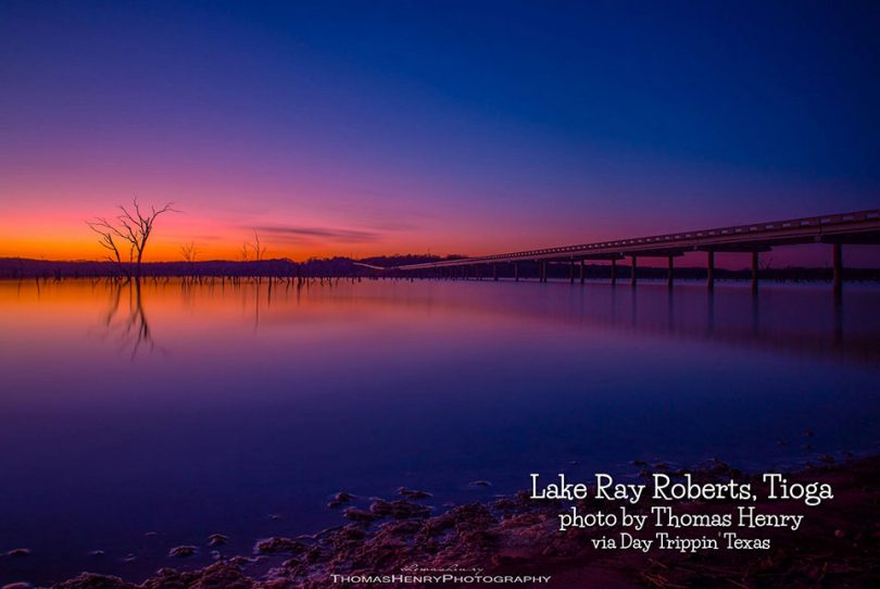 Lake Ray Roberts in Tioga by Thomas Henry
