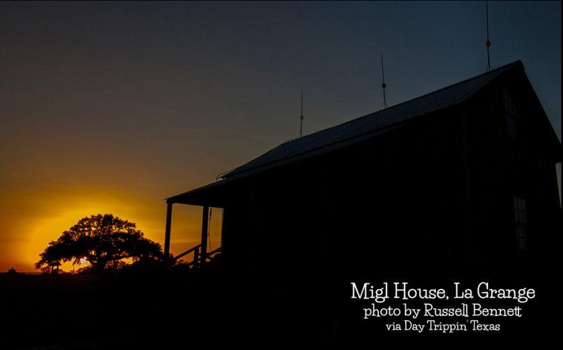 Migl House in La Grange by Russell Bennett