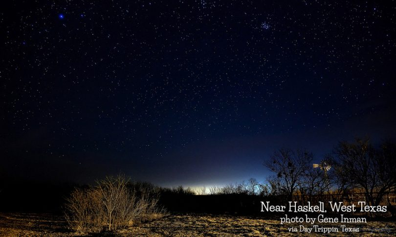 Near Haskell in West Texas by Gene Inman