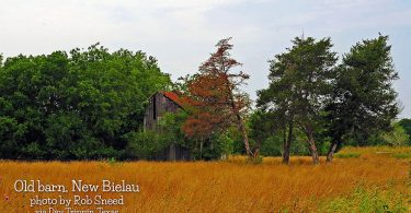 Old Barn in New Bielau by Rob Sneed