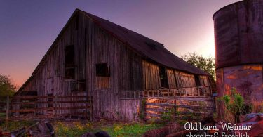 Old Barn in Weimar by S. Froehlich