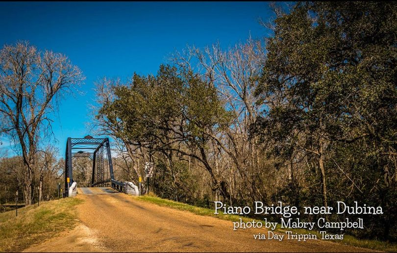 Piano Bridge near Dubina by Mabry Campbell