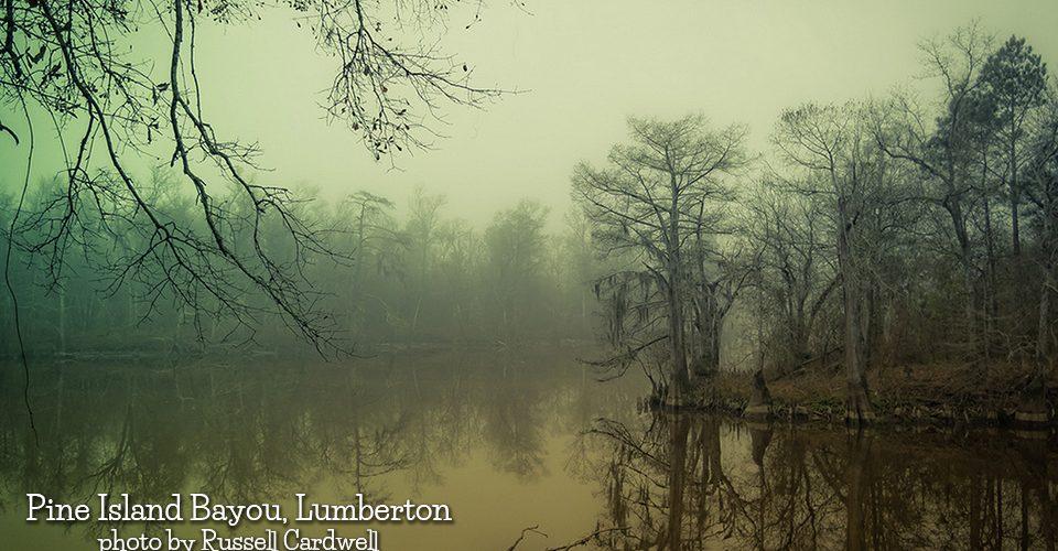 Pine Island Bayou in Lumberton by Russell Cardwell