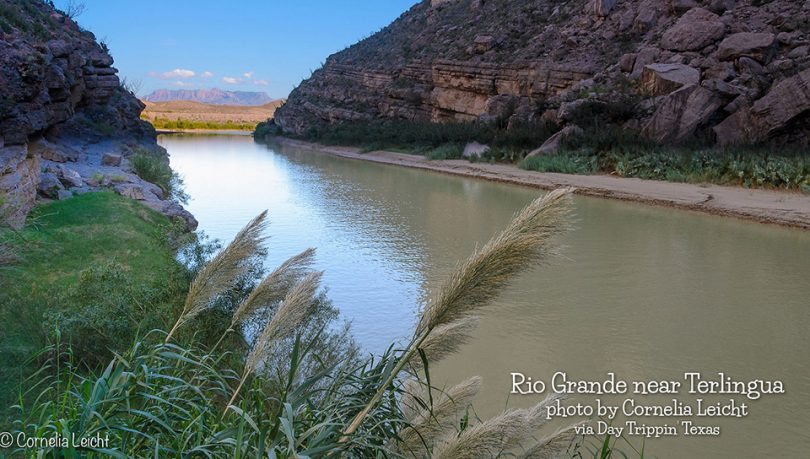 Rio Grande near Terlingua by Cornelia Leicht
