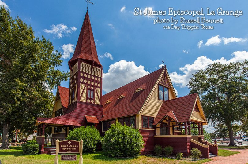 St. James Episcopal in La Grange by Russell Bennett