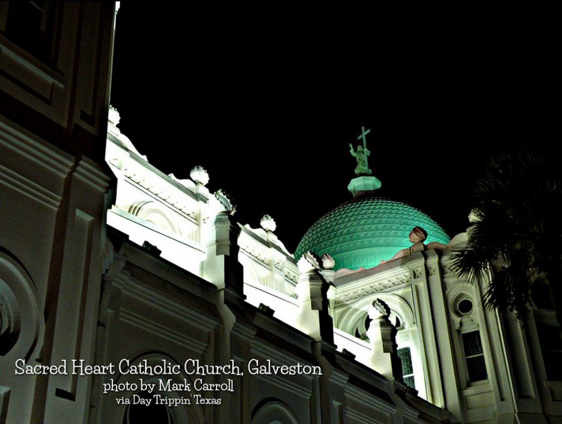 Sacred Heart in Galveston by Mark Carroll