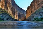 Santa Elena Canyon in Big Bend by Jason Penney