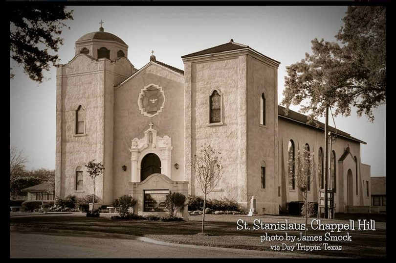St. Stanislaus in Chappell Hill by James Smock