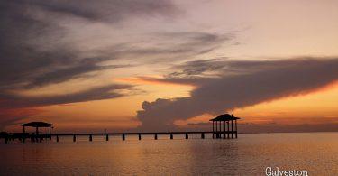 Sunset in Galveston by Sandro Giorgi
