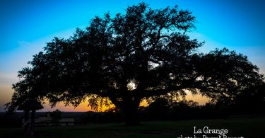 Sunset in La Grange by Russell Bennett