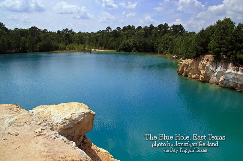 The Blue Hole in East Texas – Day Trippin' Texas