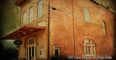 Old Train Depot in Wichita Falls by Melany Sarafis