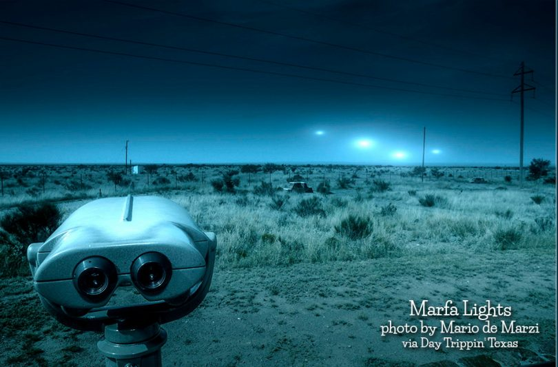 Marfa Lights by Mariode Marzi