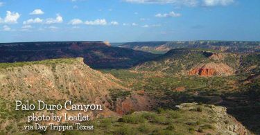 Palo Duro Canyon by Leaflet