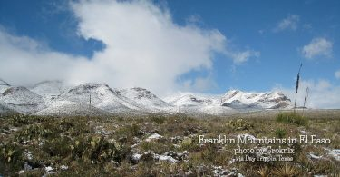 Franklin Mtns in El Paso by Groknix