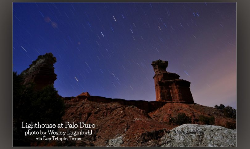 Lighthouse at Palo Duro by Wesley Luginbyhl