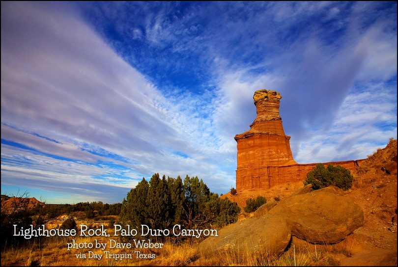 Lighthouse Rock, Palo Duro by Dave Weber
