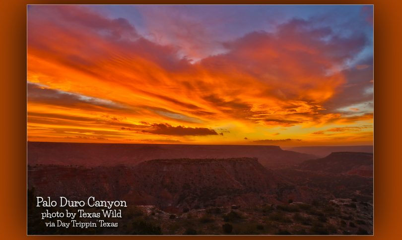 Palo Duro Canyon at sunrise by Texas Wild