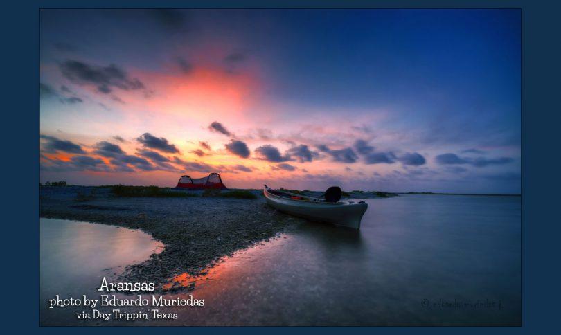 Aransas camping at sunrise by Eduardo Muriedas