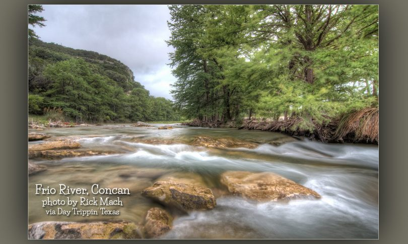 Frio River in Concan by Rick Mach