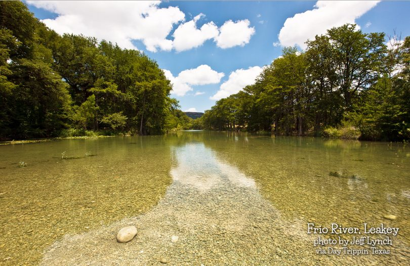 Frio River, Leakey by Jeff Lynch
