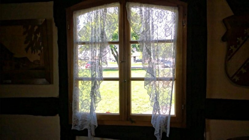 Handmade Curtains at Steinbach House in Castroville